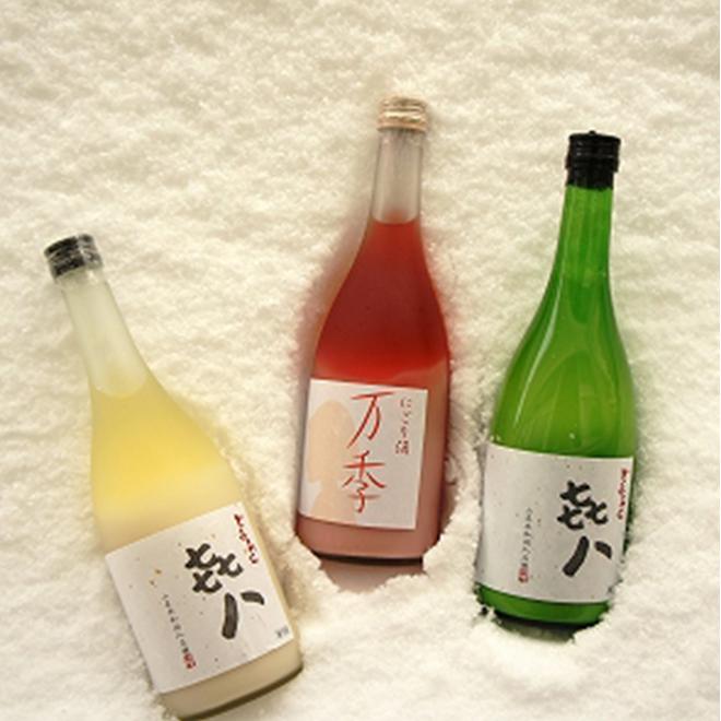 どぶろく 㐂八(きはち)・にごり酒 万季(まき) イメージ1